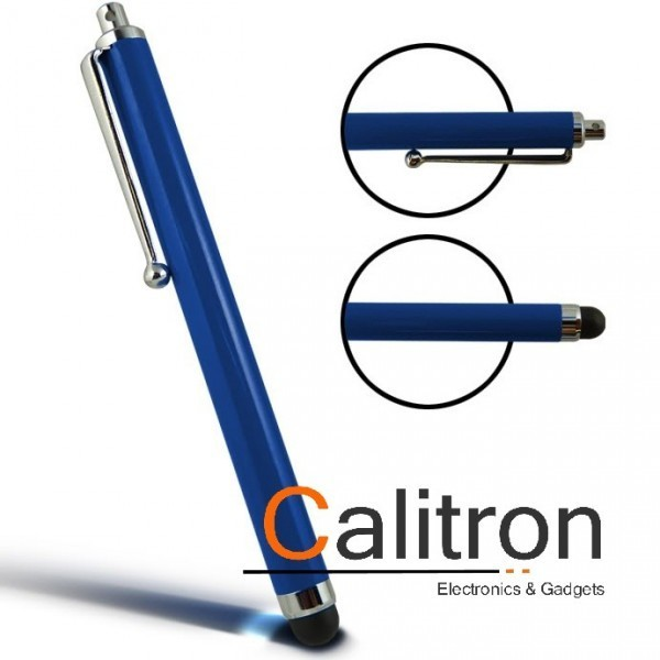 Touch Stylus Pen Stift Samsung iPhone Apple iPad Blau