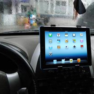 iPad 2/3/4, iPad mini, Samsung Tab, Tablet PC Auto Halterung extrem stabil Car Holder GPS DVD