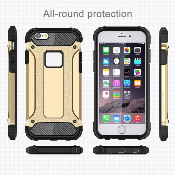 Calitron iPhone 6 Plus, 6S Plus Hybrid Cover Schock Case Gold