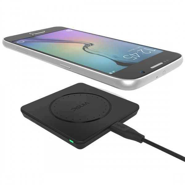 Premium Qi Induktionsladegerät Wireless Fast Charger Ladestation
