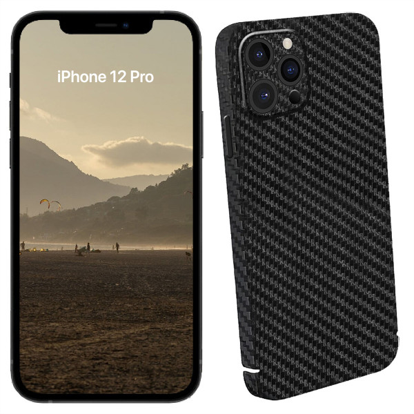 Viversis Carbon Smartphone Cover iPhone 12 Pro