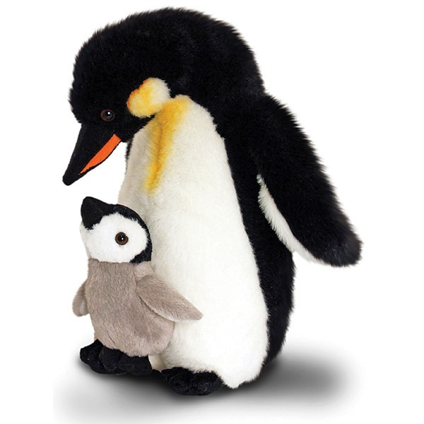 Pinguin Mutter & Baby 30cm