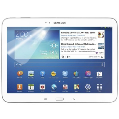 Samsung Galaxy Tab 3 10.1 Folie Screen Display SchutzFolie