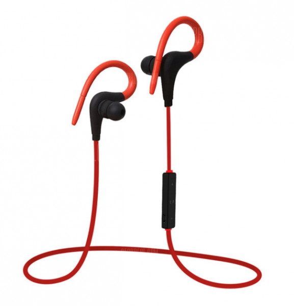 Q10 Sport Wireless Stereo Bluetooth Kopfhörer Rot