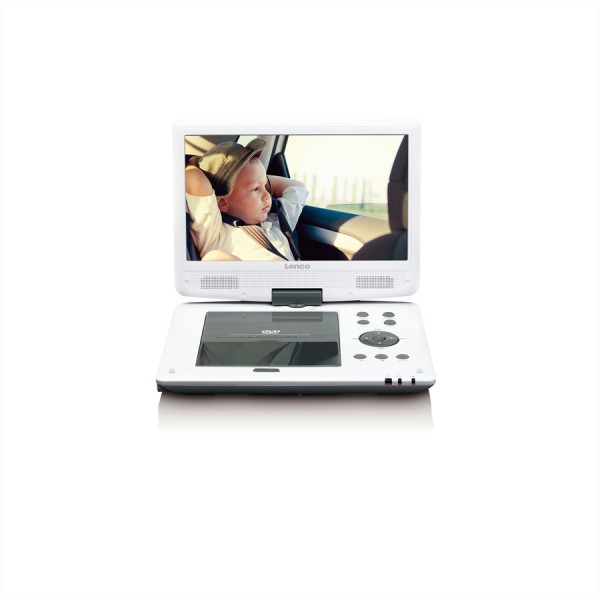 LENCO DVP-1063, portabler DVD Player,10""