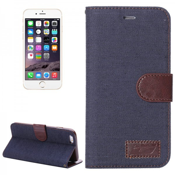 Calitron iPhone 6 Plus Etui Jeans Look Cover