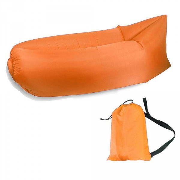 Luftsofa Airsofa Liegesack Orange