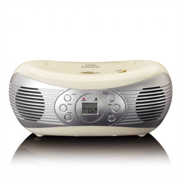 LENCO SCD-12 CD-Player, cream