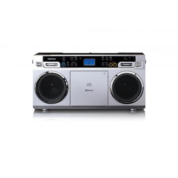 LENCO SCD-580 CD-Player, silber
