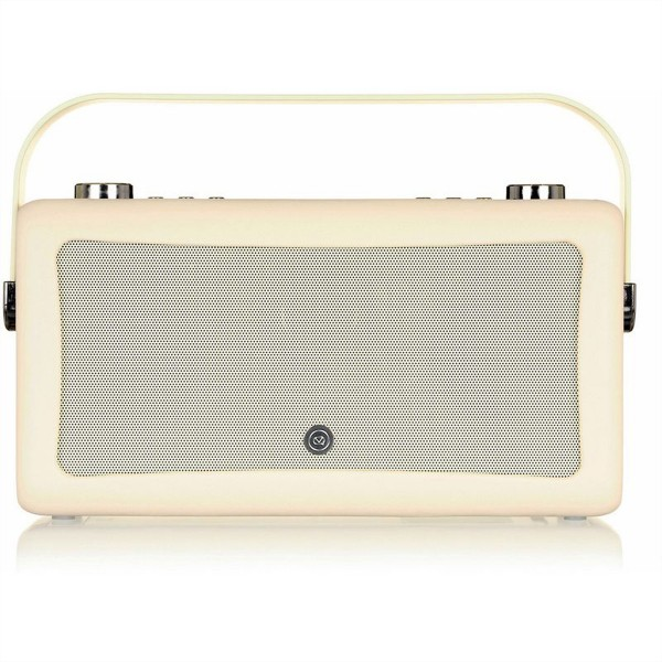 VIEW QUEST Hepburn MKII DAB+ Radio, cream, BT, 2x10W, opt. Akku